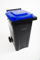 image of large recycling bin